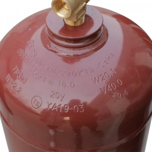 propane gas R290 gas refrigerant R290 gas price for sale 6.5kg in disposable cylinder